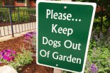 garden-signs-keep-off-grass-sign