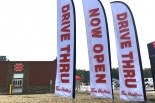 advertising-flags-tim-hortons-brantford-on