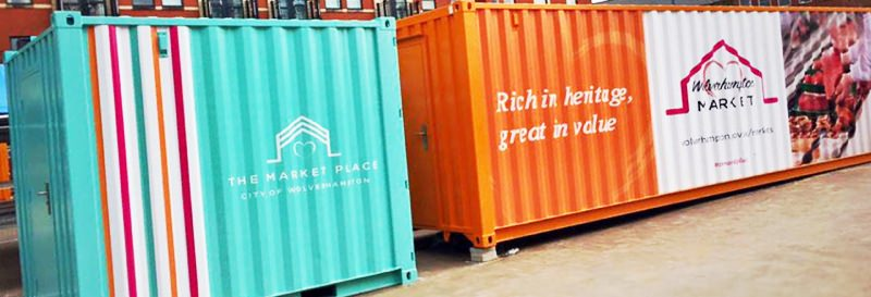 Container Wraps And Container Signs Brantford