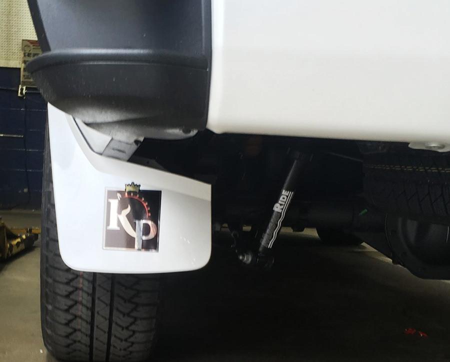 Custom vehicle decal printing example