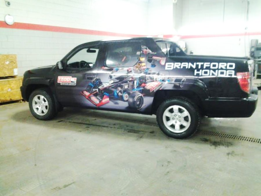 Jackson Signs Best Choice For Vehicle Wraps In Brantford