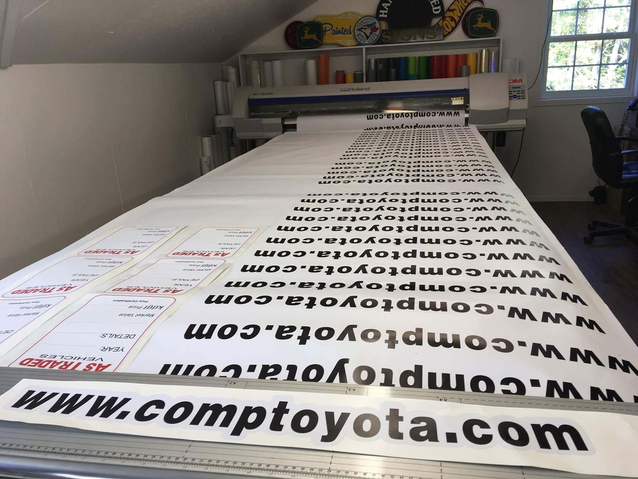 Custom Decal Sicker Printing For Cars Amp Store Windows