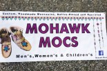Banner sign of mohawk mocs