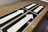 directional road wayfinding signs 3m reflective film