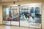 Retail storefront window graphics
