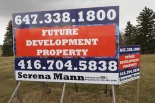 real estate billboard sign example