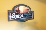 wood crafted sign for eggys
